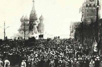 Le spectacle de la révolution: histoire visuelle des commémorations d'Octobre 1917