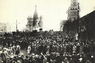 Le spectacle de la révolution: les manifestations commémoratives de la Révolution d'Octobre 1917 (1918-1947)
